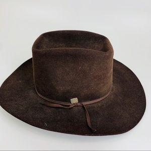 Vintage Resistol XXX 6&7/8 Beaver Fur cowboy hat